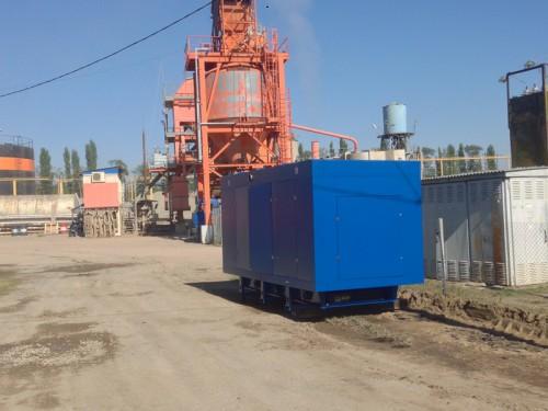 ДГУ 520 кВт для «Дорожно-строительного управления №1»